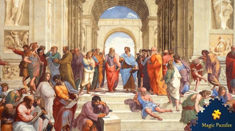 Magic Puzzles. Raphaël « L'école d'Athènes », 1511