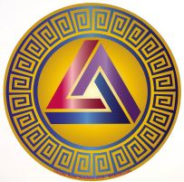 crob triangle + vagues stylisées