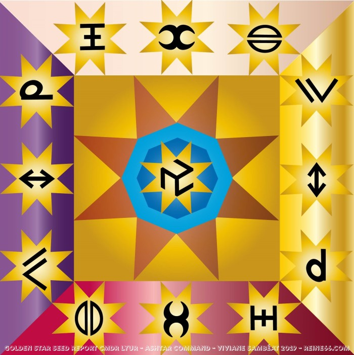 symbole golden star seed