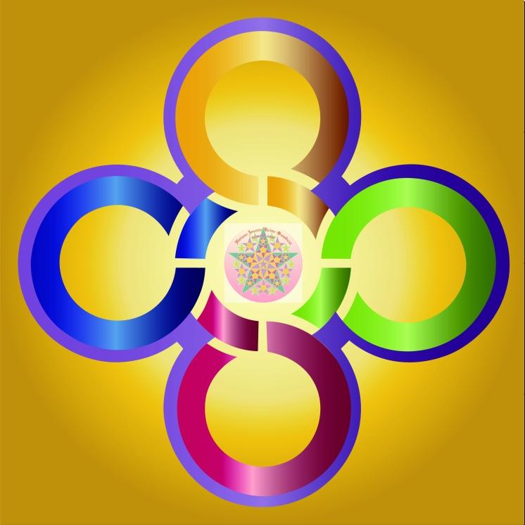 Crop 5 cercles rubans