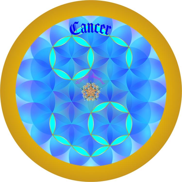 Signe Astro Fleur de vie Cancer