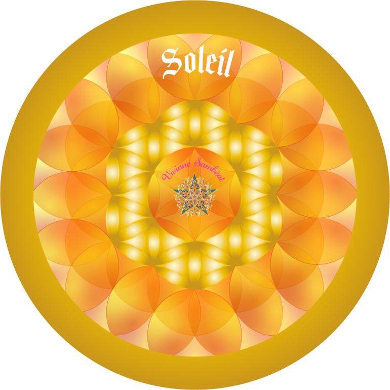 Signe Astro Fleur de vie Soleil