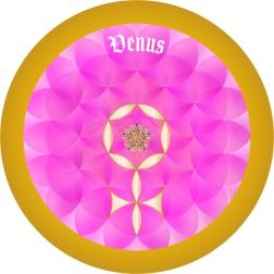 Signe Astro Fleur de vie Venus